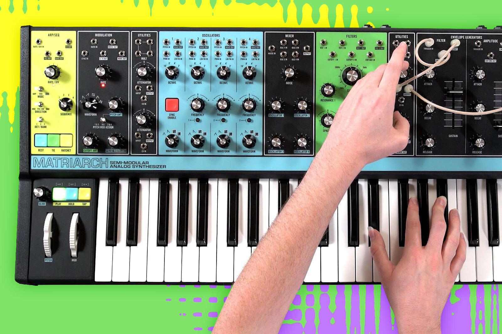 Moog Matriarch: Hot Tips and Tricks