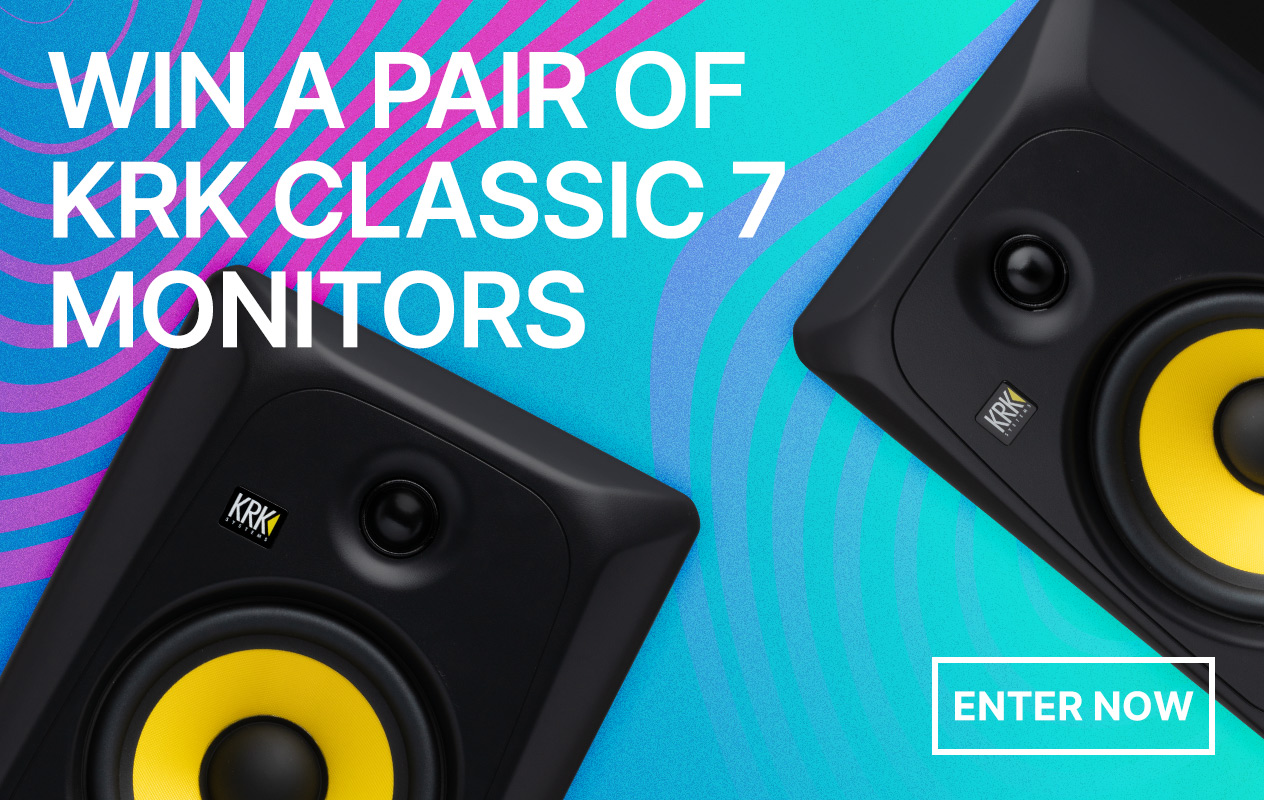 Win a Pair of KRK Classic 7s