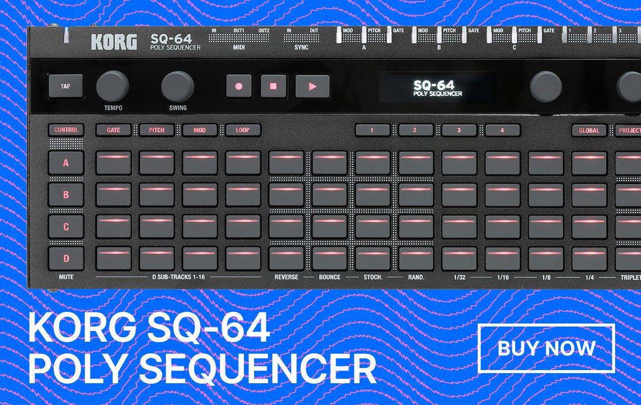 Korg SQ-64 Sequencer